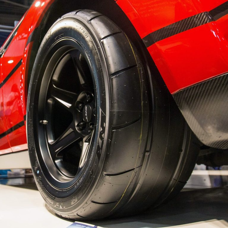 Nitto NT05R On SRT Challenger - Drag Tire Buyer
